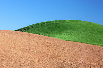 Photograph - Layers Of Mounds by Todd Klassy