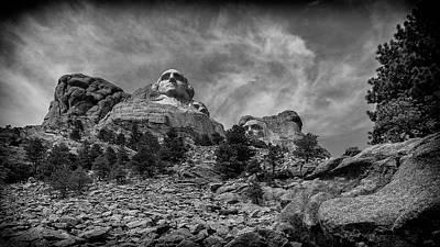 Photograph - Mount Rushmore by David Mohn