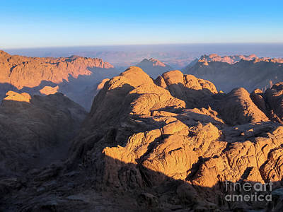 Photograph - Mount Sinai Egypt by Benny Marty