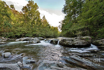 Classic Golf - Mountain Stream by David Arment