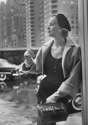 Photograph - Mrs. Thomas Phipps by Nina Leen