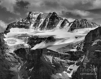 Photograph - Mt. Fay And Fay Glacier by Adam Jewell