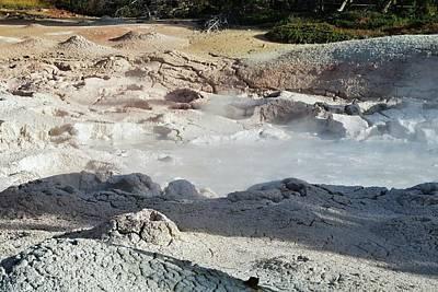 New Years - Mud pots at Yellowstone  by Susan Jensen