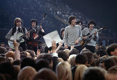 Music. 1964. London. The Rock Band The Art Print by Popperfoto