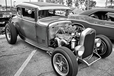 Photograph - Mystery Coupe by Bill Dutting