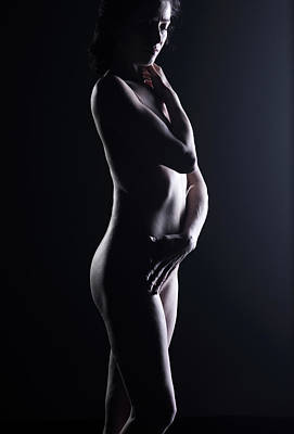 Naked Photograph - Naked Woman by Buena Vista Images