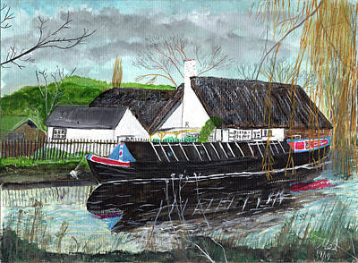 Princess Diana - Narrowboat by Mel Beasley