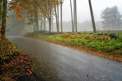 Photograph - New Hampshire Autumn by Tom Singleton