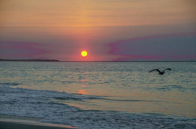 Photograph - New Jersey Sunrise At Cape May by Bill Cannon