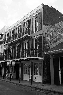 Photograph - New Orleans 2004 Bw #6 by Frank Romeo