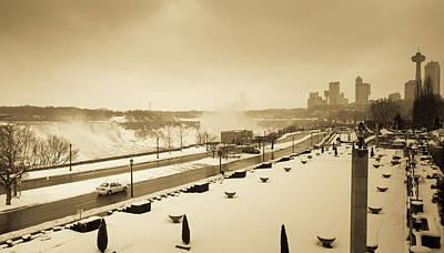 Photograph - Niagara Falls Ontario by Nick Mares