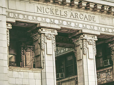 Photograph - Nickels Arcade by Phil Perkins