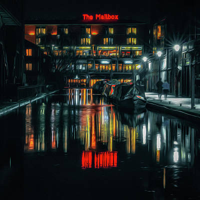 Photograph - Night Out At The Mailbox by Chris Fletcher