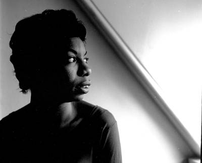 Photograph - Nina Simone by Herb Snitzer