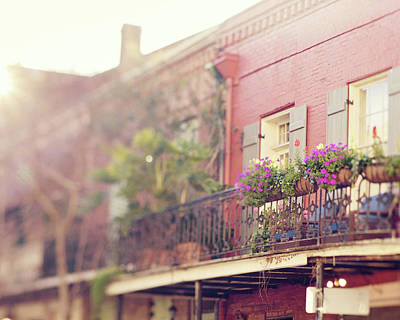 Wine Beer And Alcohol Patents - Nola Balcony by Erin Johnson