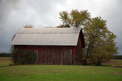 Popular Rustic Neutral Tones - Northern Barn by Linda Kerkau