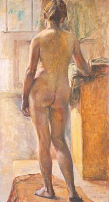 Painting - Nude by Kuroda Seiki