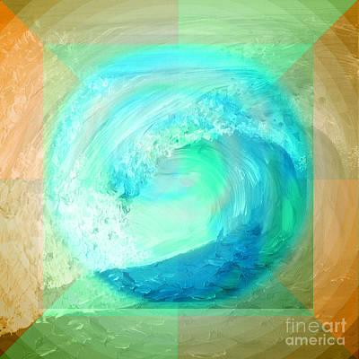 Digital Art - Ocean Earth by Shelley Myers