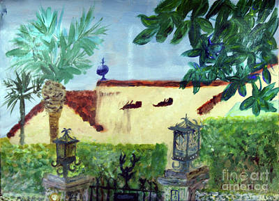 Painting - Old Floresta by Donna Walsh