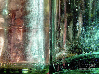 Photograph - Old Glass Bottles by Phil Perkins