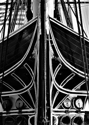 Photograph - Old Ironsides Forcastle by Rob Hans