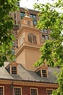 Photograph - Old State House  by Paul Mangold