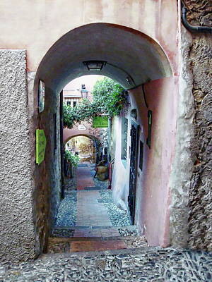 Photograph - Old Town Alley by Anthony Dezenzio