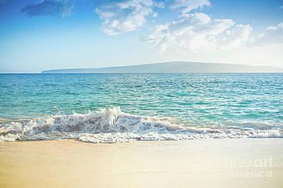 Photograph - Oneloa Big Beach Makena Maui Hawaii by Sharon Mau