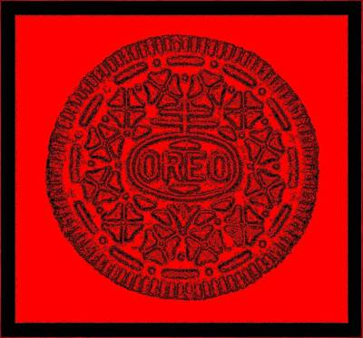 Photograph - Oreo Redux Red 2 by Rob Hans