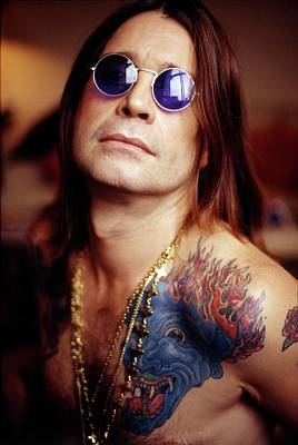 Photograph - Ozzy Osbourne London 1991 by Martyn Goodacre