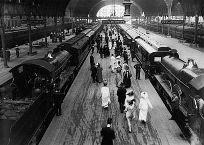 Photograph - Paddington Station by Topical Press Agency