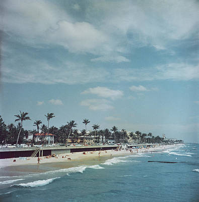 Sea Photograph - Palm Beach by Slim Aarons