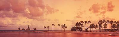 Photograph - Panorama Beach Miami by Thepalmer