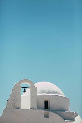 Mykonos Photograph - Paraportiani Church In Mykonos by Deimagine