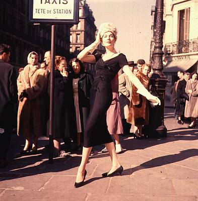 Photograph - Paris 1957 by Haywood Magee