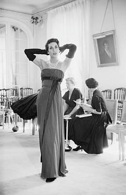 Photograph - Paris Fashion by Kurt Hutton