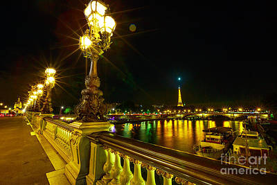 Photograph - Paris Pont Alexandre IIi by Benny Marty