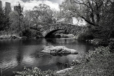 Park Bridge Art Print