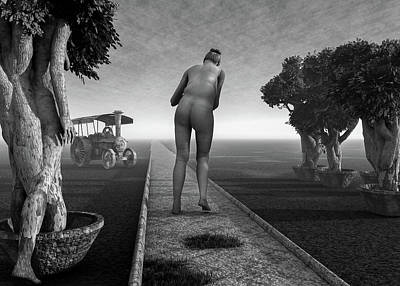 Surrealism Royalty-Free and Rights-Managed Images - Path In Life  by Bob Orsillo