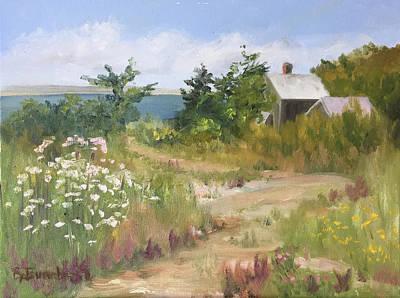 Painting - Path to the Sea by Barbara Busenbark