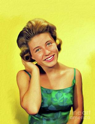 Royalty-Free and Rights-Managed Images - Patty Duke, Vintage Actress by Esoterica Art Agency