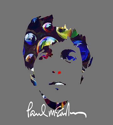 Man Cave - Paul McCartney by Marvin Blaine
