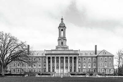 Photograph - Penn State University Old Main  by University Icons