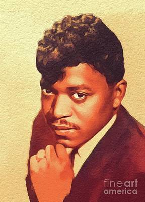 Music Paintings - Percy Sledge, Music Legend by Esoterica Art Agency