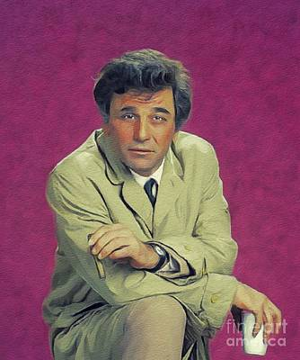 Royalty-Free and Rights-Managed Images - Peter Falk as Columbo by Esoterica Art Agency