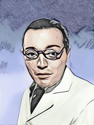 Digital Art Royalty Free Images - Peter Lorre, Hollywood Legend Royalty-Free Image by John Springfield