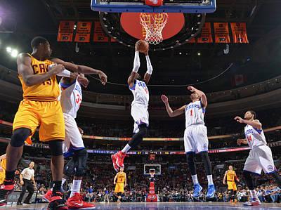Photograph - Philadelphia 76ers V Cleveland Cavaliers by David Dow