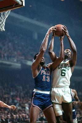 Photograph - Philadelphia 76ers Vs. Boston Celtics by Dick Raphael