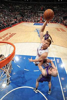 Photograph - Phoenix Suns V Los Angeles Clippers by Andrew D. Bernstein