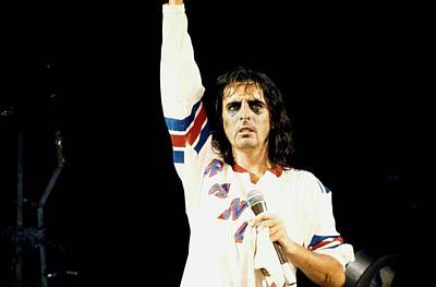 Photograph - Photo Of Alice Cooper by Steve Morley